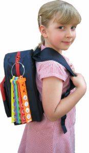 School bag packed