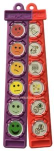 feelings thermometer tag with what's wrong tag