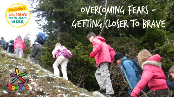COVER IMAGE FOR DAY 3 CHILDREN'S MENTAL HEALTH WEEK BLOG, OVERCOMING FEARS