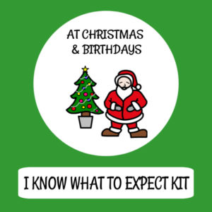 cover image what to expect at christmas kit