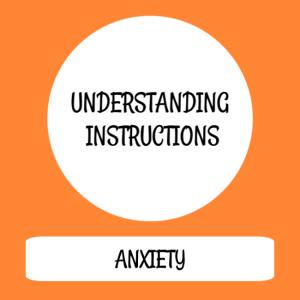 Understanding instructions